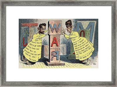 Us Newspapers Of William Randolph Framed Print by Everett