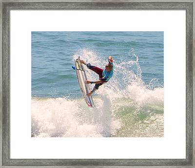 Us Open Of Surfing 2012   1 Framed Print by Jason Waugh