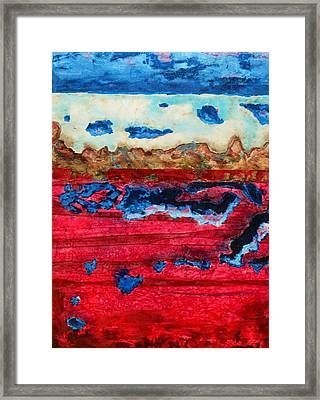 Usa In Decay Framed Print by David Raderstorf