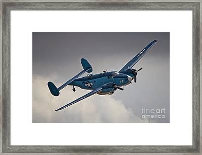 Usn Lockheed Hudson Chino 2011 Framed Print by Gus McCrea