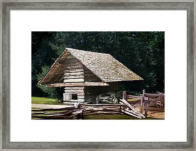Utility And Strength Framed Print by Barry Jones