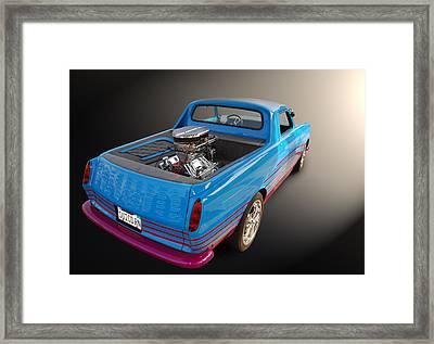 V8vw Framed Print by Bill Dutting
