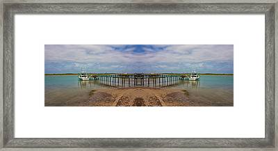 Vacation Reflection Framed Print by Betsy C Knapp
