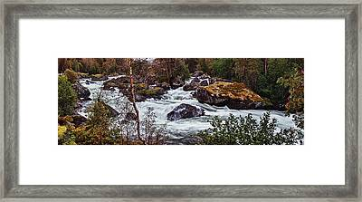 Valdolla River Framed Print by A A