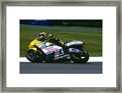 Valentino Rossi Framed Print by Don Hooper