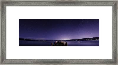 Valhalla Pier Lake Tahoe Framed Print by Brad Scott