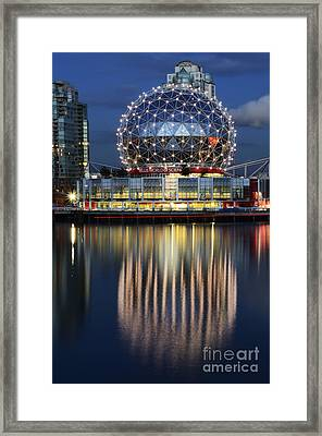 Vancouver British Columbia 1 Framed Print by Bob Christopher