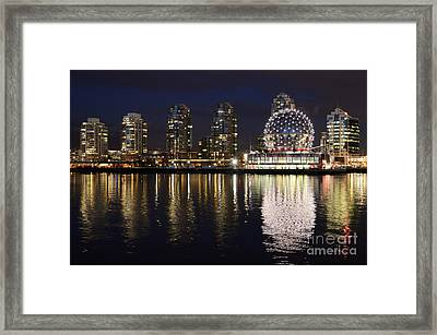 Vancouver British Columbia 2 Framed Print by Bob Christopher
