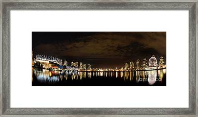 Vancouver British Columbia 4 Framed Print by Bob Christopher