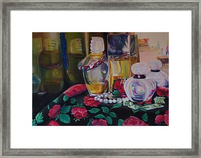 Vanities Framed Print by Loueen Morrison