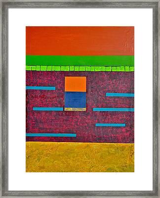 Variations In Line Framed Print by Jim Ellis