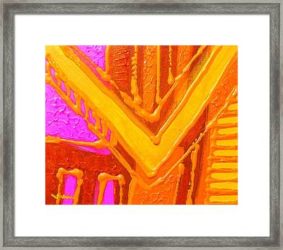 Variations On A Theme Framed Print by John  Nolan