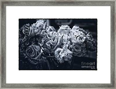Vase Of Flowers 2 Framed Print by Madeline Ellis