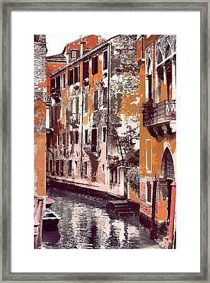 Venetian Serenity Framed Print by Greg Sharpe