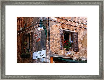 Venice Architecture 2 Framed Print by Bob Christopher