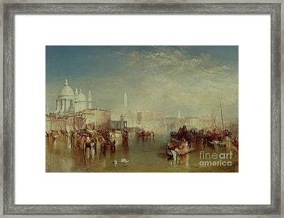 Venice Framed Print by Joseph Mallord William Turner