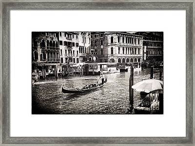 Venice Memory Framed Print by Madeline Ellis