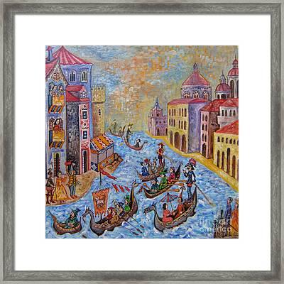 Venice Framed Print by Milen Litchkov