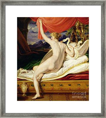 Venus Rising From Her Couch Framed Print by James Ward