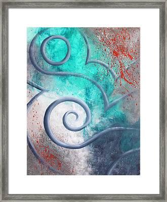 Venus Sky Framed Print by Reina Cottier