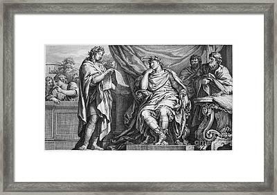 Vergil (70-19 B.c.) Framed Print by Granger