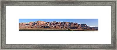 Vermillion Cliffs And Prairie Framed Print by Gregory Scott
