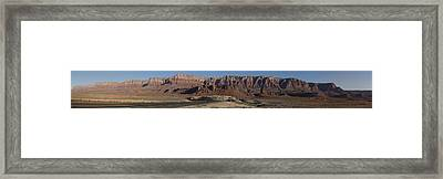 Vermillion Cliffs Near Marble Canyon Framed Print by Gregory Scott