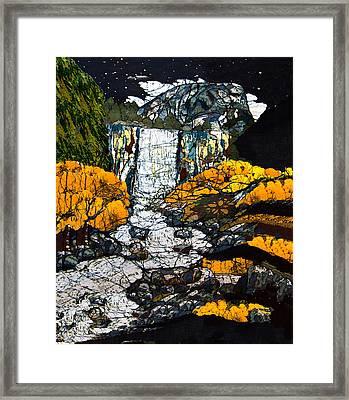 Vernal Falls Framed Print by Alexandra  Sanders