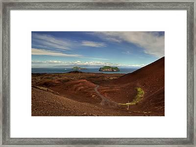 Vestmann Islands Framed Print by Stephanie Benjamin