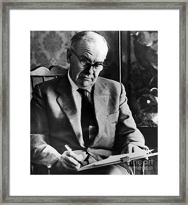 Victor Sawdon Pritchett Framed Print by Granger