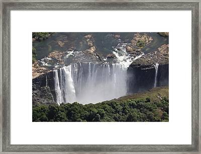 Victoria Falls II Framed Print by Christian Heeb