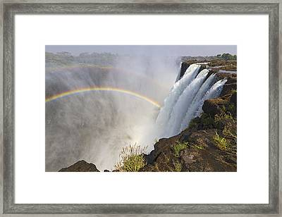 Victoria Falls, Zambia, Africa Framed Print by Yvette Cardozo