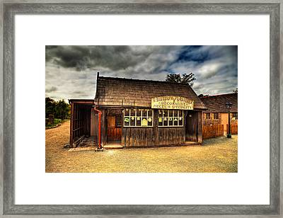 Victorian Shop Framed Print by Adrian Evans