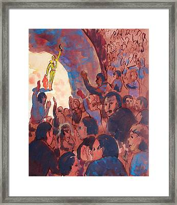 Victory Framed Print by Bill Joseph  Markowski