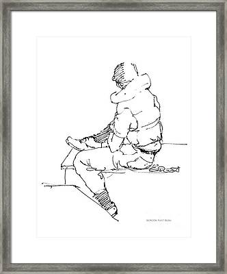 Vietnam War Art-4 Framed Print by Gordon Punt