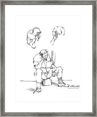 Vietnam War Art-6 Framed Print by Gordon Punt