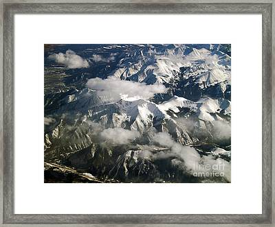 View From Above Framed Print by Patricia Griffin Brett