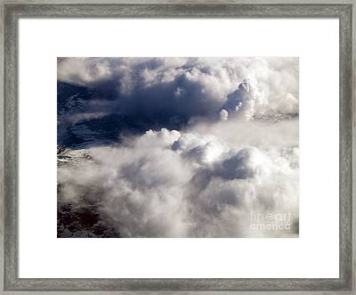 View From Above V Framed Print by Patricia Griffin Brett