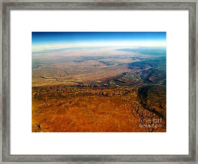View From Above Vi Framed Print by Patricia Griffin Brett
