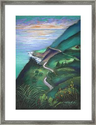 View From The Hermitage Framed Print by Karin  Leonard