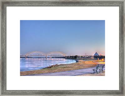 View From The Park Framed Print by Barry Jones