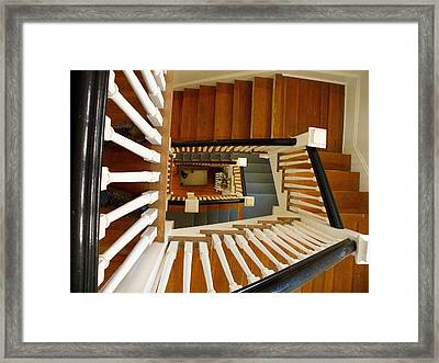 View From The Top Framed Print by FeVa  Fotos