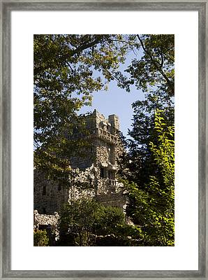 View Of Gillette Castle Framed Print by Todd Gipstein