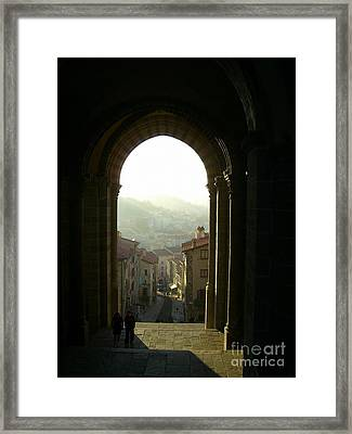 View Of Le Puy En Velay Framed Print by Lainie Wrightson
