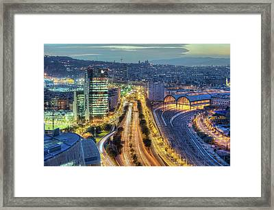 View Of Street Framed Print by marcp_dmoz on Flickr