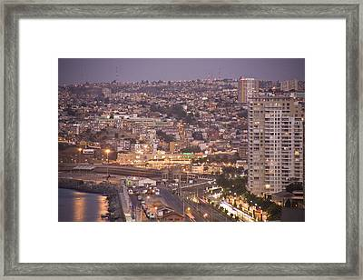 Views From Paseo Atkinson, On Cerro Framed Print by Richard Nowitz