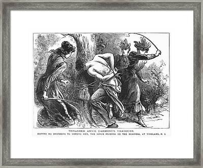 Vigilantes, 1893 Framed Print by Granger
