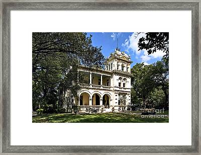 Villa Finale - A Last Home Framed Print by Lianne Schneider