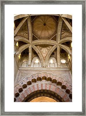 Villaviciosa Vaulted Dome Framed Print by Artur Bogacki
