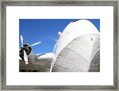 Vintage Boac British Overseas Airways Corporation Speedbird Flying Boat . 7d11259 Framed Print by Wingsdomain Art and Photography